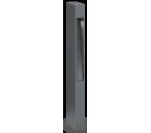 MERCURIO Bedlampe i aluminium og glas H60 cm 1 x G9 - Antracit/Klar