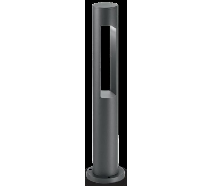 Image of   ACQUA Bedlampe i aluminium og glas H60 cm 1 x G9 - Antracit/Klar