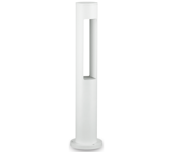 Image of   ACQUA Bedlampe i aluminium og glas H60 cm 1 x G9 - Hvid/Klar