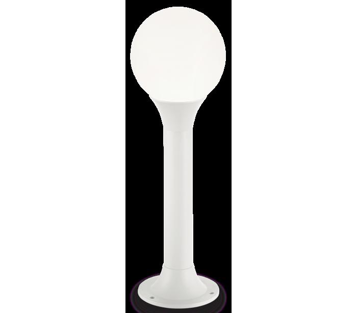 ideal lux - fumagalli – Green bedlampe i aluminium og polycarbonat h60 cm 1 x e27 - hvid/hvid fra lepong.dk