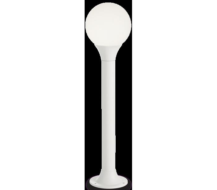 ideal lux - fumagalli – Green bedlampe i aluminium og polycarbonat h80 cm 1 x e27 - hvid/hvid på lepong.dk