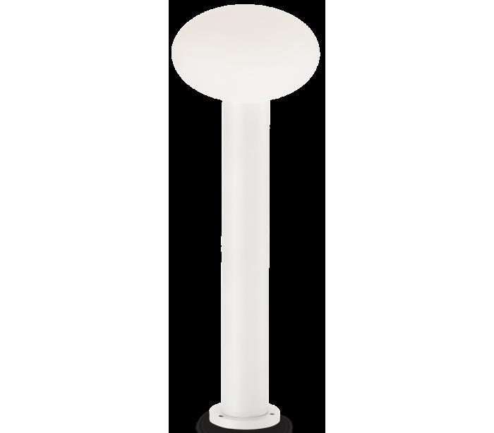 Image of   ARMONY Bedlampe i aluminium og plast H78 cm 1 x E27 - Hvid/Hvid