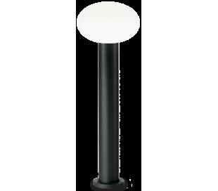 ARMONY Bedlampe i aluminium og plast H78 cm 1 x E27 - Sort/Hvid