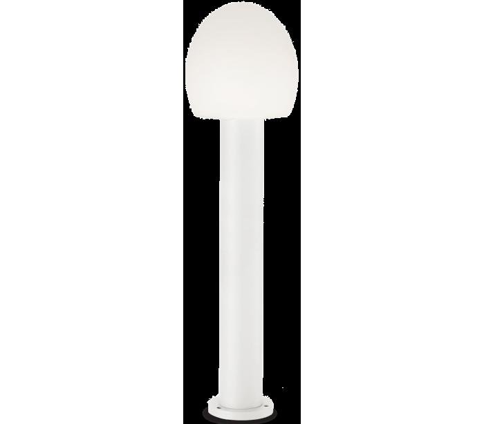 Image of   CONCERTO Bedlampe i aluminium og plast H83,5 cm 1 x E27 - Hvid/Hvid