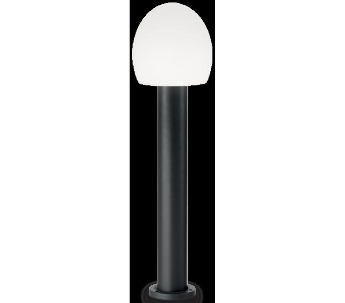 Image of   CONCERTO Bedlampe i aluminium og plast H83,5 cm 1 x E27 - Sort/Hvid
