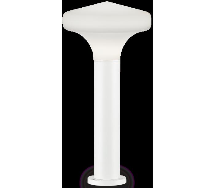 Sound bedlampe i aluminium og plast h80 cm 1 x e27 - hvid/hvid fra ideal lux - fumagalli fra lepong.dk