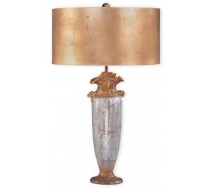 BIENVILLE Bordlampe H76 cm 1 x E27 - Antik sølv/Antik guld