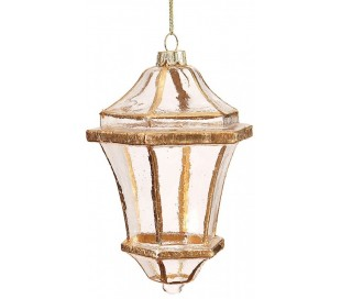 Lanterne glasophæng H14 cm