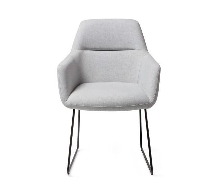 2 x kinko spisebordsstole h84 cm polyester - sort/grå fra rendl light studio fra lepong.dk