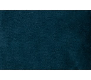 Sofa med højrevendt chaiselong i velour 300 x 155 cm - Blå