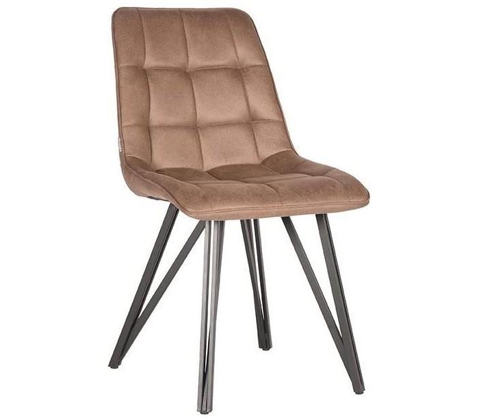 Boaz spisebordsstol i microfiber H86 cm - Vintage stone