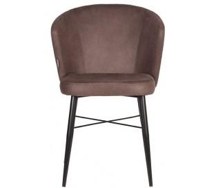 Wave spisebordsstol i microfiber H85 cm - Vintage trøffelgrå