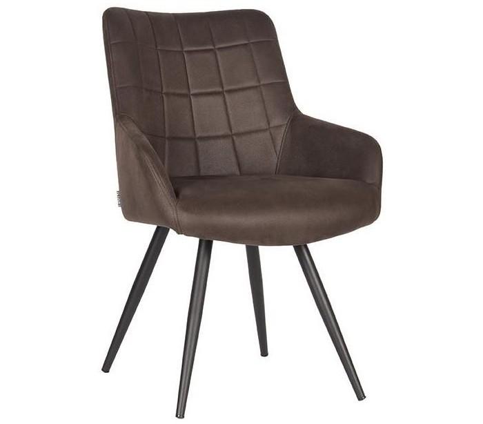 Must spisebordsstol i microfiber h85 cm - vintage antracit fra label51 fra lepong.dk