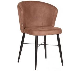 Wave spisebordsstol i microfiber H85 cm - Vintage brun