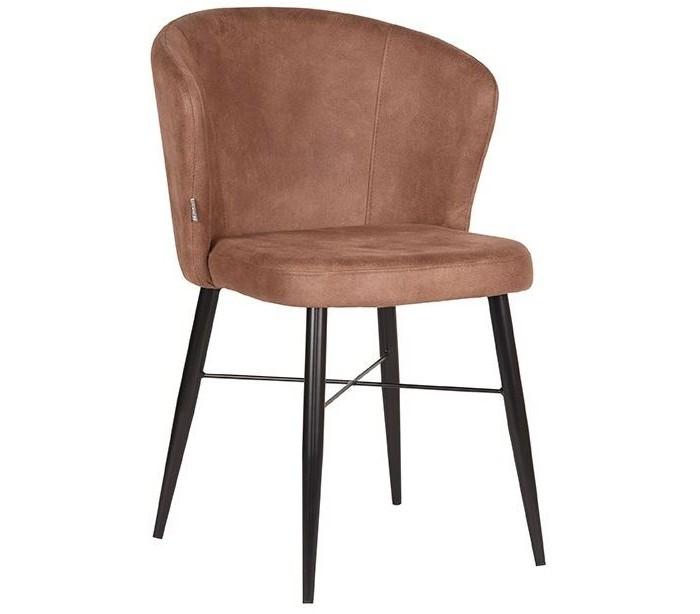 Wave spisebordsstol i microfiber h85 cm - vintage brun fra label51 fra lepong.dk