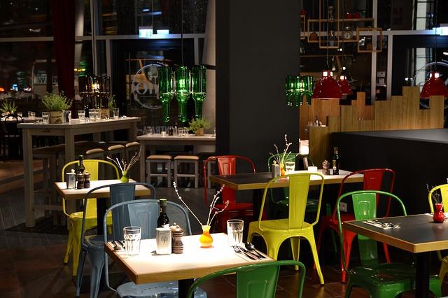 Indretning cafe restaurant